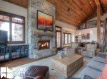 Big Sky Resort, Cowboy Heaven Luxury Suite 7D, Living, 2