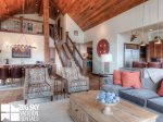 Big Sky Resort, Cowboy Heaven Luxury Suite 7D, Living, 4