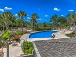 Complex Pool with Sundeck at South Beach Club in Sea Pines