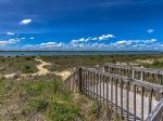 Boardwalk to the beach from Beachside Tennis on Hilton Head Island