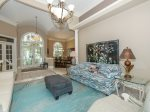 Beautiful Sitting Room Greets you as you Enter 26 Sea Lane