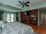 Master Bedroom with Private Deck Access at 6 Ketch
