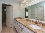Second Master Bathroom with Double Vanities at 6 Ketch