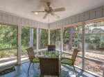 Screened Porch is Located off Dining Room at 1 Gunnery Lane