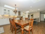 Dining Room Located off Kitchen has Seating for 6 at 1 Gunnery Lane