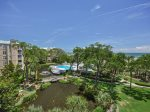 View from 409 Barrington Court in Palmetto Dunes Plantation