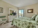 Master Bedroom with King Bed and Balcony Access at 409 Barrington Court