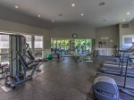 Guests staying at Villamare have access to the onsite fitness center