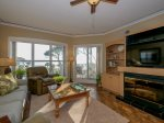 Living Room with Ocean Views at 5306 Hampton Place