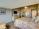 Upstairs Guest Bedroom with King Beds, Shared Bathroom and Beautiful Ocean Views at 8 Ketch