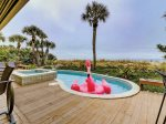 Covered Pool Deck with Direct Ocean Views8 Ketch Court
