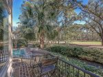 Wrap Around Deck Offers Guests a Wide Open View of Harbour Town Golf Course at 102 Baynard Cove