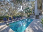 Pool with Golf Course Views at 102 Baynard Cove Road
