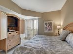 Master Bedroom with King Bed at 411 Barrington Court