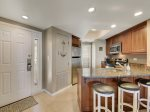 Kitchen with Breakfast Bar at 411 Barrington Court