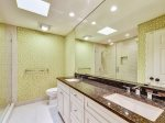 Upstairs Master Bathroom with Large Walk In Shower at 20 Red Cardinal