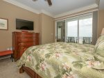 Master Bedroom with Private Balcony Access at 3303 Sea Crest
