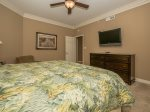 Guest Bedroom with Flat Screen TV and Private Bathroom at 3303 Sea Crest