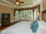 Master Bedroom with Lagoon Views at 46 Shell Ring