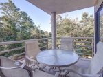 Balcony Located off Living Room and Guest Bedroom at 3230 Villamare