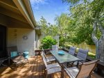 Spacious Back Deck with BBQ at 1581 Lagoon Villa