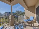 Balcony with 4th Floor Ocean Views at 5404 Hampton Place