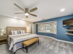 Master Bedroom with King Bed at 14 South Beach Lane