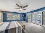 Master Bedroom with Back Deck Access at 14 South Beach Lane