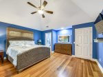 Spacious Guest Bedroom with King Bed at 14 South Beach Lane