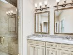 Master Bathroom with Walk In Shower at 218 Cordillo Parkway