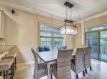 Living Room Opens to Dining Area and Kitchen at 218 Cordillo Parkway