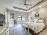 Master Bedroom with King Bed at 218 Cordillo Parkway