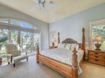 Second Master Bedroom with King Bed at 9 Beach Lagoon
