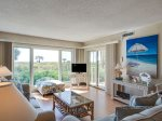 Living Room with Ocean Views at 110 Shorewood