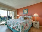 Master Bedroom has Deck Access and Offers Ocean Views at 110 Shorewood