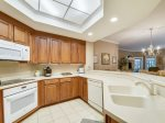 Kitchen with Breakfast Bar at 8101 Wendover Dunes