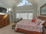Upstairs Master Bedroom with King Bed at 18 Sandhill Crane