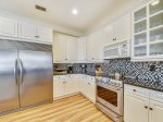 Kitchen with Stainless Steel Appliances at 29 Sandpiper