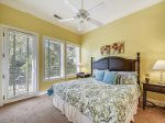 Guest Bedroom with King Bed on Main Level at 29 Sandpiper