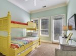 Second Bunk Bed Room Full Size on Bottom, Twin on Top at 29 Sandpiper