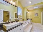Large Master Bathroom with Separate Tub and Shower at 29 Sandpiper