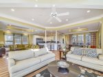 Living Room with Plenty of Seating for the Entire Family at 29 Sandpiper