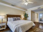 Master Bedroom with Direct Ocean Views from Private Balcony at 3504 SeaCrest