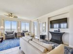 Living Area with Ocean Front Views at 3405 SeaCrest