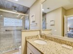 Master Bathroom with Walk In Shower at 9 Bald Eagle West