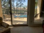 Views of Pool and Calibogue Sound at 1873 Beachside Tennis