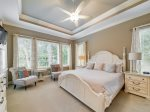 Master Bedroom with King Bed at 159 Mooring Buoy