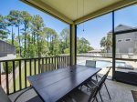 Small Screened Patio off Dining Area at 5 Urchin Manor