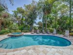 Pool and Hot Tub with Golf Course Views at 16 Heath Drive