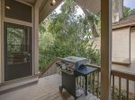 Back Deck with BBQ Grill at 22 Shell Ring
